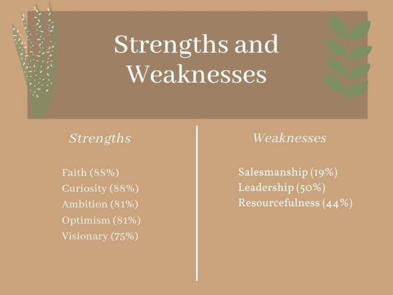 building-a-brand-strenghts-and-weaknesses-chart